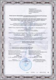 Лицензия на осуществление образовательной деятельности (стр. 3)